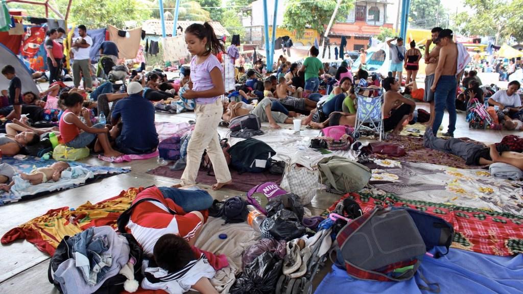 Migrantes que huyeron de redada reaparecen en Tonalá, Chiapas - Migrantes Chiapas