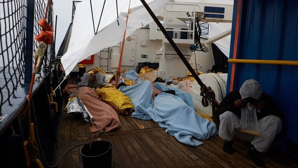 Países europeos acogerán a migrantes rescatados en el Mediterráneo - Foto de Sea Eye