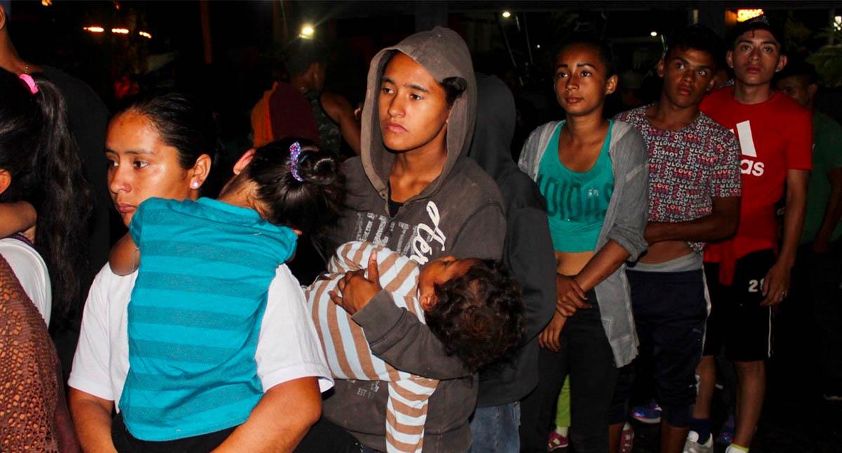 Se fugan migrantes de la estación Siglo XXI en Chiapas