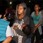 Huyen de estación del INM más de mil migrantes en Chiapas - Migrantes en Tapachula, Chiapa. Foto de Notimex