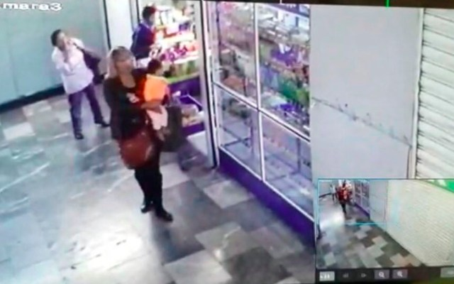 #Video Mujer roba a bebé de 8 meses en Hospital General