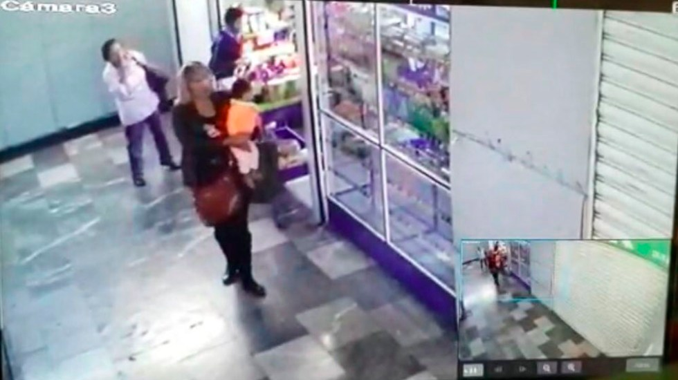 #Video Mujer roba a bebé de 8 meses en Hospital General - Captura de pantalla