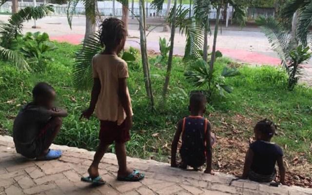 CNDH exhorta a INM a realizar censo de niños migrantes en Chiapas - Niños migrantes en Chiapas. Foto de @INAMI_mx