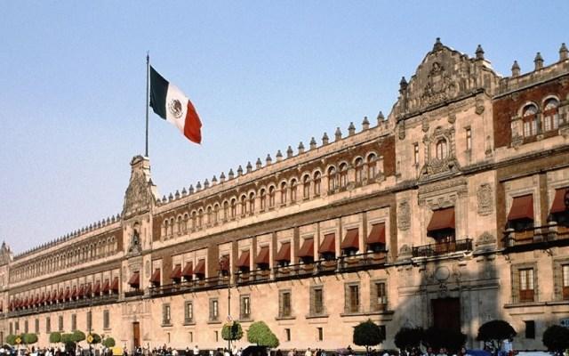 López Obrador presenta a gabinete avances de gasto presupuestal - Palacio Nacional. Foto de Luis Durán / Google Maps