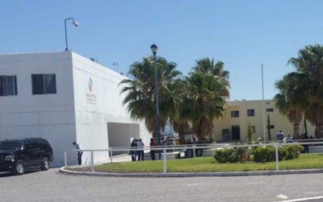 Riña en el penal La Pila de San Luis Potosí - Foto de @SSP_SLP