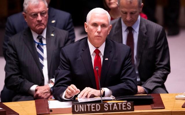 EE.UU. pide a la ONU que reconozca a Juan Guaidó como presidente de Venezuela - Foto de AFP