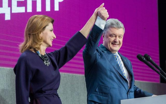 Poroshenko admite derrota en elecciones de Ucrania - Petro Poroshenko en cierre de campaña. Foto de @poroshenko