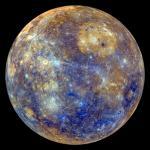 NASA confirma que el núcleo de Mercurio es sólido - Planeta Mercurio. Foto de Centro de Vuelo Espacial Goddard de la NASA