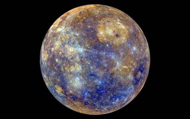 Tránsito de Mercurio sobre el Sol podrá verse en México - Planeta Mercurio. Foto de Centro de Vuelo Espacial Goddard de la NASA