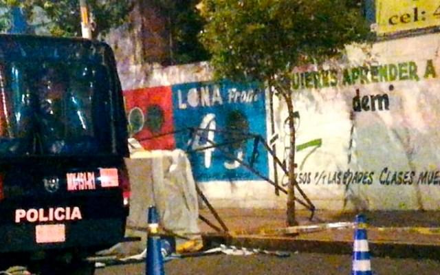 Muere policía tras ser atropellado en alcoholímetro en Xochimilco - Foto de @alertasurbanas