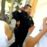 #Video Policía dispara al aire en la colonia Peralvillo - Captura de pantalla