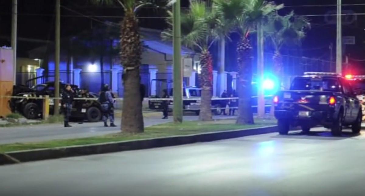 Policía donde fue asesinada la comerciante. Captura de pantalla / El Siglo de Torreón