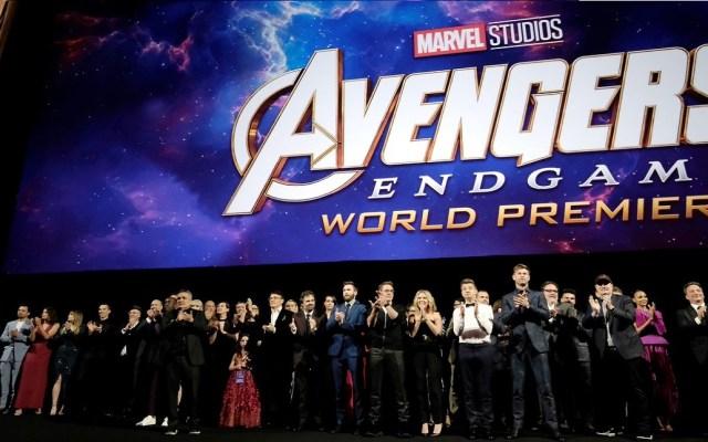 """Avengers: Endgame"" se acerca al trono de la más taquillera de la historia - Premiere mundial de Avengers: Endgame. Foto de @Avengers"