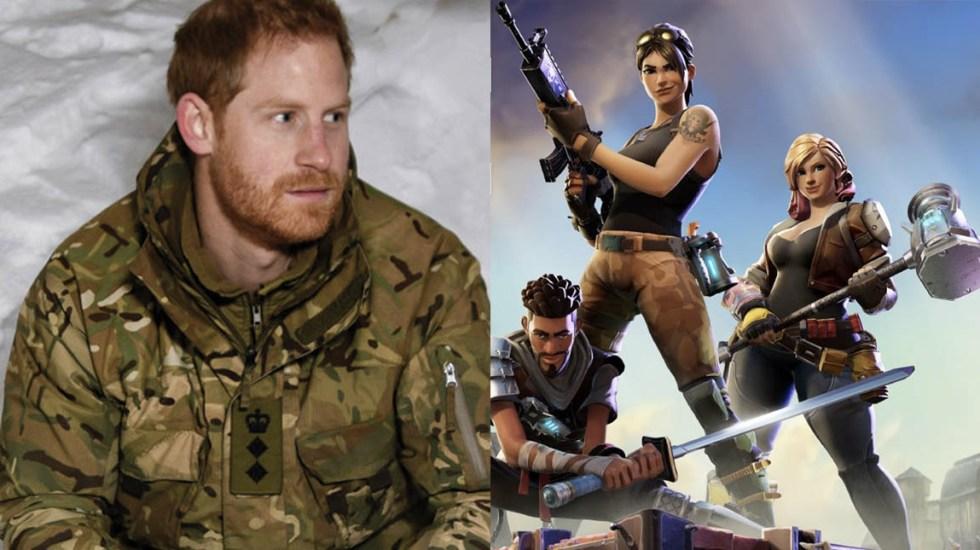 Príncipe Harry sostiene que 'Fortnite' debería estar prohibido - Foto de AFP/Epic Games