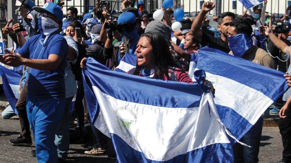 Liberan a 50 manifestantes contra gobierno de Daniel Ortega en Nicaragua - Foto de AFP