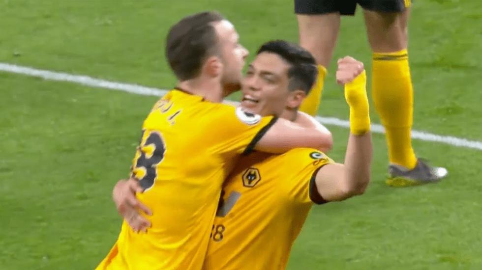 Raúl Jiménez brilla en victoria de los Wolves sobre Manchester United