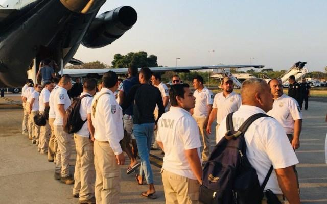 Migración retorna a 148 indocumentados a Cuba - Regreso de cubanos. Foto de @INAMI_mx
