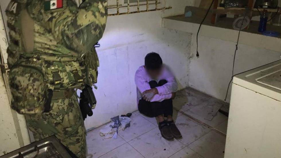 Guardia Nacional rescata junto a SSP de Veracruz a menor secuestrado - Rescate de menor secuestrado en Veracruz. Foto de @SPVeracruz