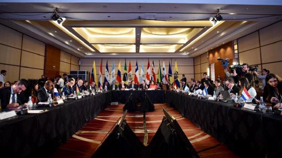 Grupo de Lima exhorta a la ONU a tomar acciones en Venezuela - Reunión del Grupo de Lima. Foto de @Minrel_Chile