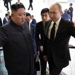 Corea del Norte necesita garantías sobre su seguridad: Putin - Reunión entre Kim Jong-un y Vladimir Putin. Foto de AFP / Alexey Nikolsky