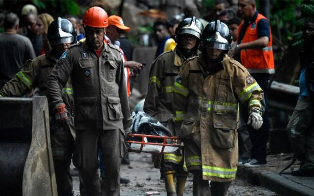 Lluvias torrenciales en Río de Janeiro dejan al menos 10 muertos - Foto de AFP