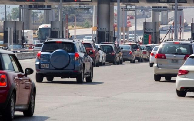 Autopista México-Pachuca registra mayor número de salida de autos - Foto de Notimex