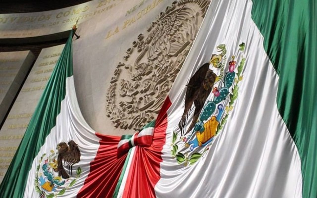Diputados citarán a secretarios por coronavirus en México - Salón de Sesiones de la Cámara de Diputados. Foto de @mx_diputados
