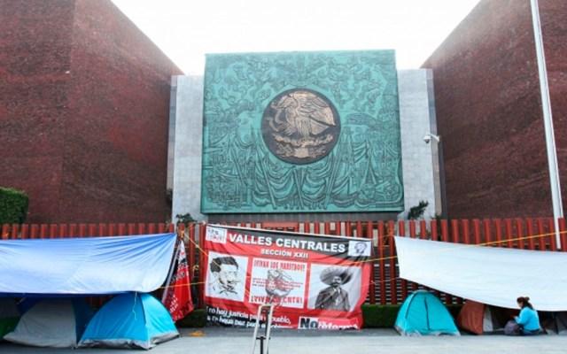 CNTE define plan de acción contra reforma educativa - Foto de Notimex