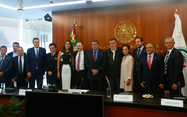 Durazo entrega al Senado iniciativas complementarias a la Guardia Nacional - Foto de Milenio