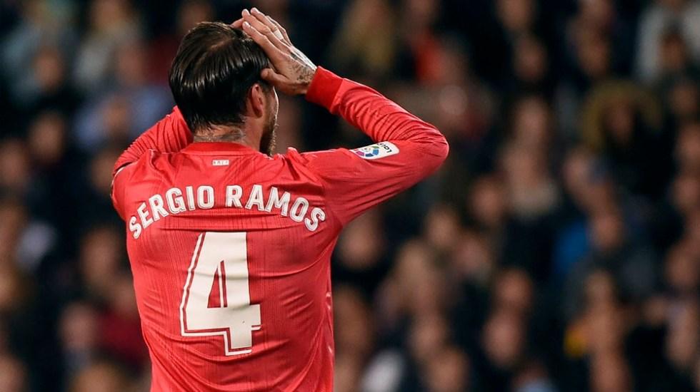 SergioRamos será baja con el Real Madrid por lesión - Foto de AFP