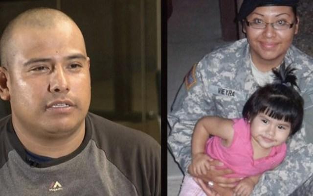ICE deporta a mexicano esposo de una soldado que murió en Afganistán - Foto de Impacto Latino