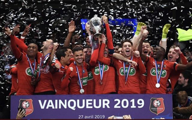 Stade Rennes frena al PSG y le arrebata la Copa de Francia 2019 - Foto de @coupedefrance