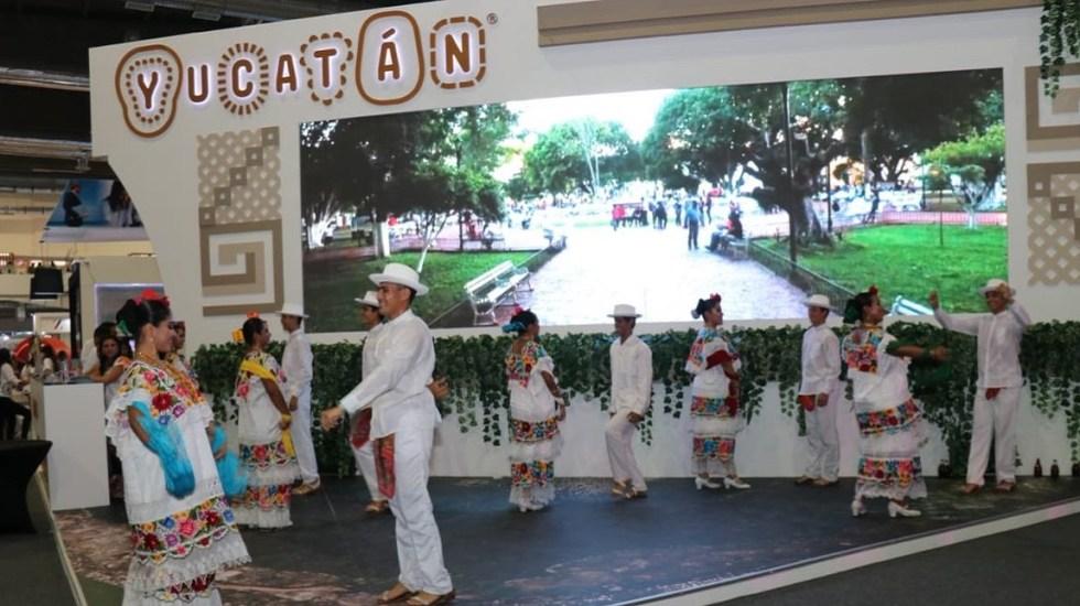 #Video Yucatán recibe estafeta para el Tianguis Turístico 2020 - Stand de Yucatán en el Tianguis Turístico 2019. Foto de @HectorAstudillo