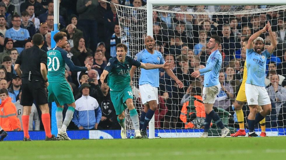 Tottenham en semifinales de la Champions tras partido cardíaco contra el City - Foto de AFP