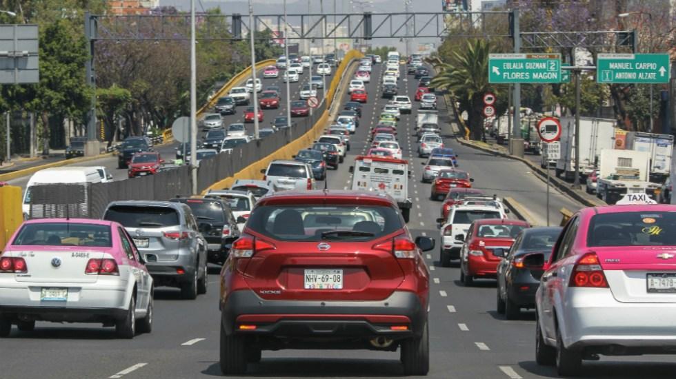 Vehículos con restricciones por Fase 1 de Contingencia Ambiental - vehículos