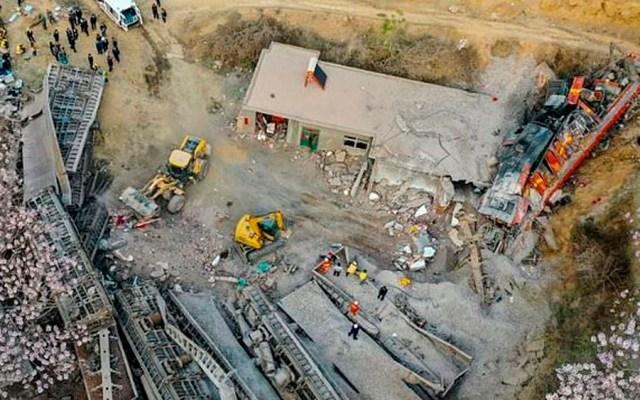 Seis muertos tras descarrilar tren de carga en China - Foto de AFP