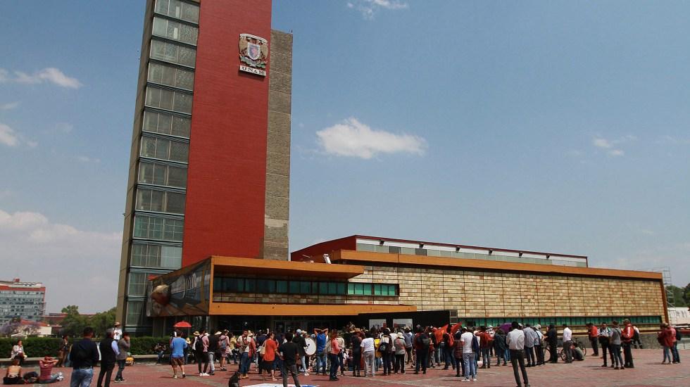 Facultad de Ciencias Políticas de la UNAM anuncia paro por muerte de alumna del CCH - UNAM Ciudad Universitaria