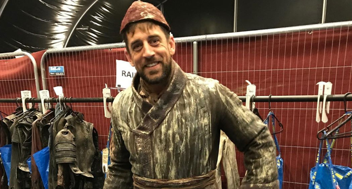 Aaron Rodgers apareció en Game of Thrones y no lo viste