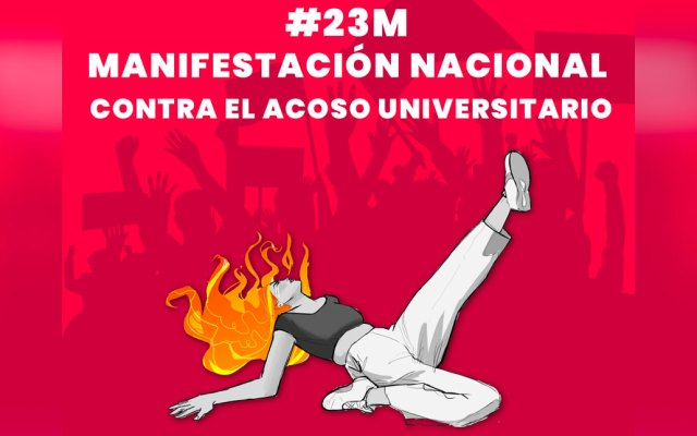 Convocan a manifestación nacional contra el acoso universitario - acoso universitario