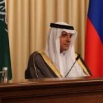 Arabia Saudita asegura que no quiere una guerra en el Golfo - Adel al-Jubeir, canciller de Arabia Saudita. Foto de @AdelAljubeir