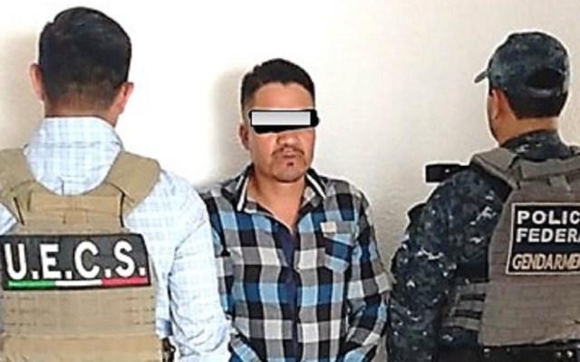 Detienen a presunto suegro de líder de robo de combustible en Veracruz - Adelaida N. Foto de @fgeveracruz