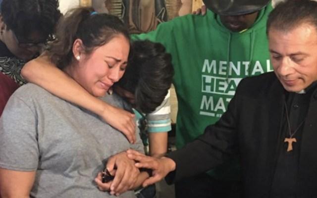 Mexicana embarazada se refugia en iglesia de Chicago para evitar deportación - Adilene Marquina migrante embarazada mexicana Chicago Iglesia