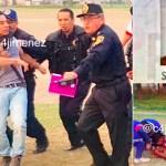 Balean a presunto homicida tras riña con agentes de la PGJ
