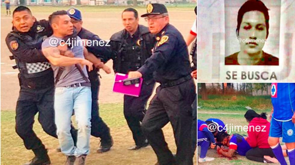 Balean a presunto homicida tras riña con agentes de la PGJ - agente pgj homicida gam riña