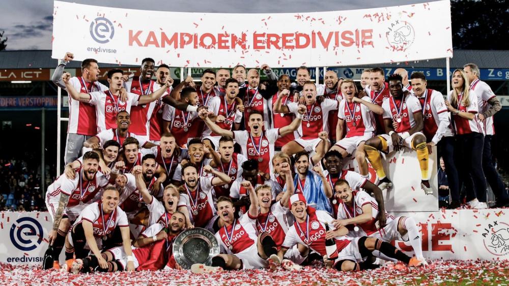 Ajax de Amsterdam obtiene su 34 título de liga - Foto de @AndreyOnana