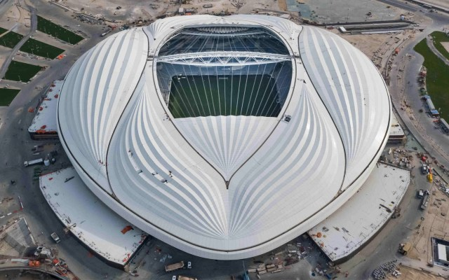 Listo el segundo estadio para Qatar 2022 - Al Wakrah Qatar 2022 estadio