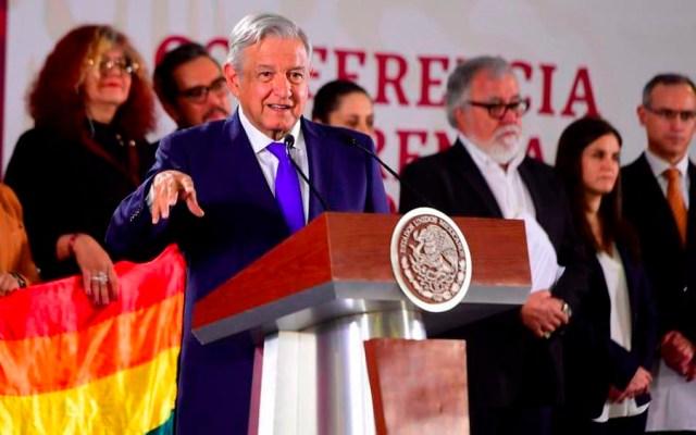 AMLO anuncia acciones contra la homofobia y crímenes de odio - amlo conferencia homofobia