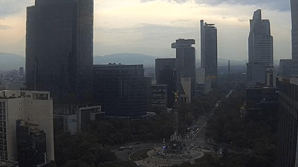 Levantan Contingencia Ambiental Extraordinaria en el Valle de México - Foto de Webcams de México