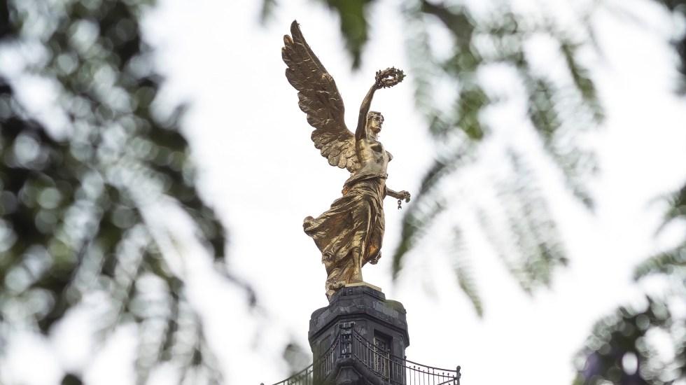 Yo sostengo que está muy bien la economía: AMLO - Ángel de la Independencia. Foto de Sergio Ruz Vázquez / Unsplash