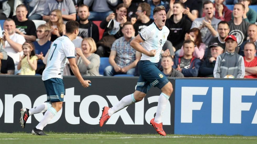 Argentina Sub 20 da golpe sobre la mesa al ganar a campeona de Europa - Foto de @Argentina